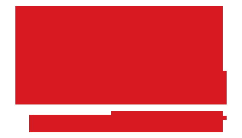 1С Франчайзинг Логотип красный без подложки